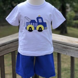 Other - Tow truck shorts set